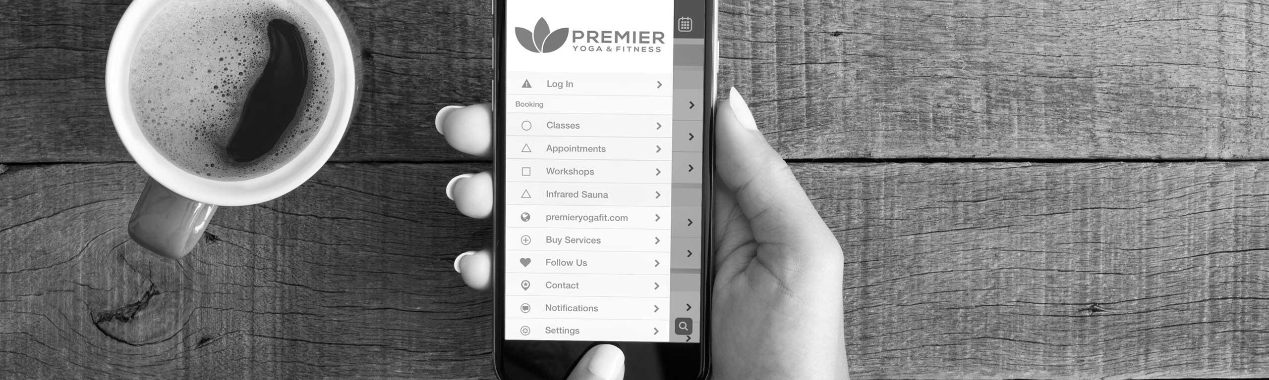 Premier Mobile App