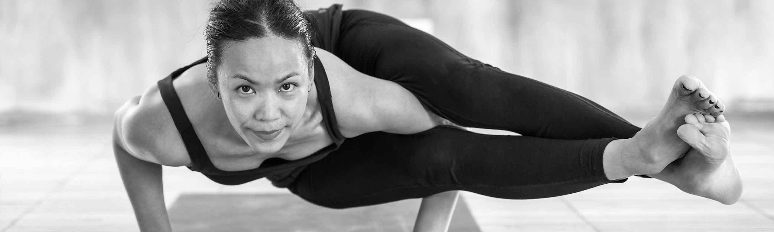 Strong Yoga Pose